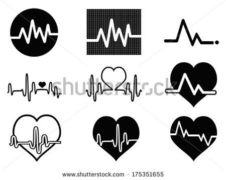 Heart Beat Stock Images, Royalty.