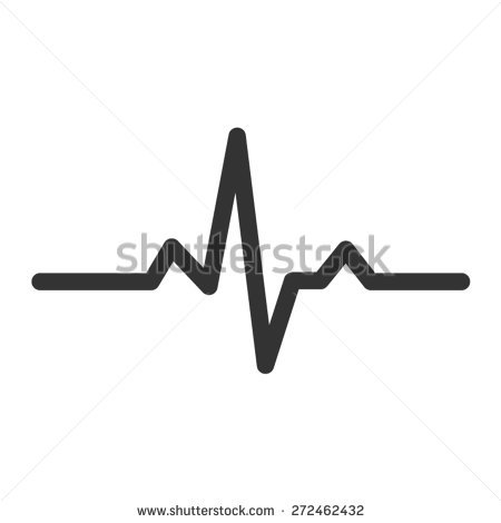 Heart Beat Line Stock Images, Royalty.