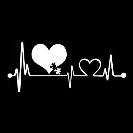 AUTISM HEARTBEAT AWARENESS 6\