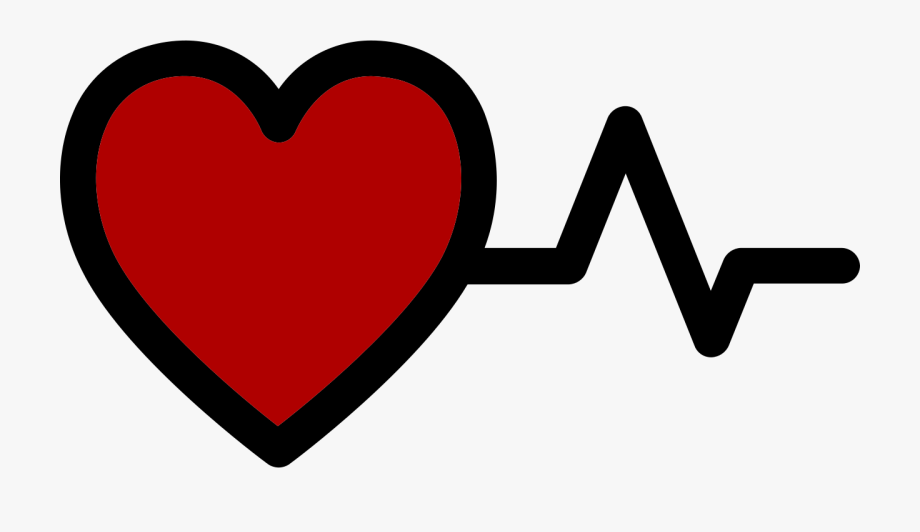 Px Red Heart With Heartbeat Logo.