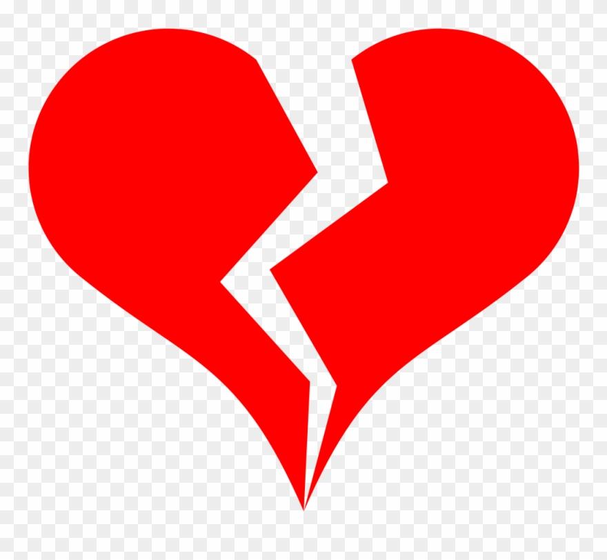 Broken Heart Love Drawing Line Art.