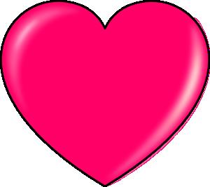 Secretlondon Pink Heart Clip Art at Clker.com.