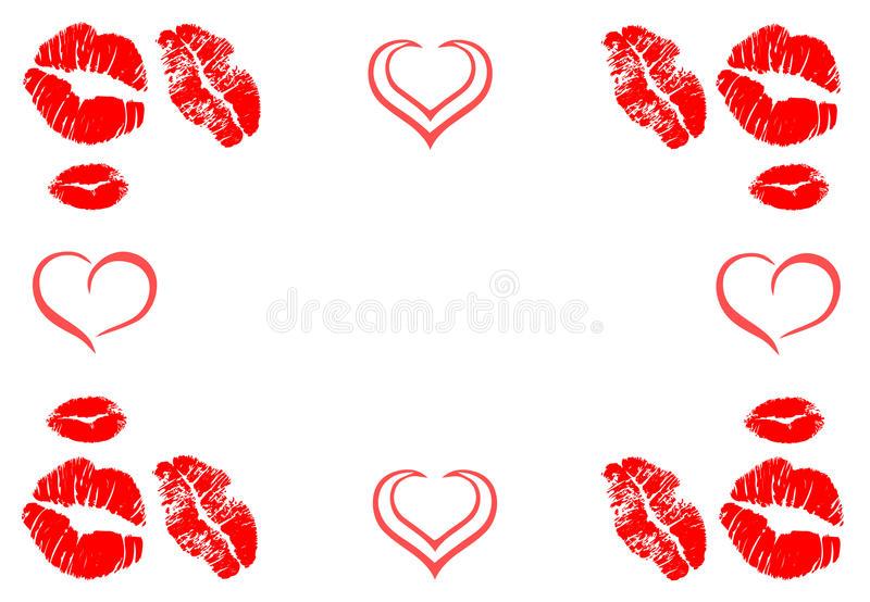 Kisses Stock Illustrations.