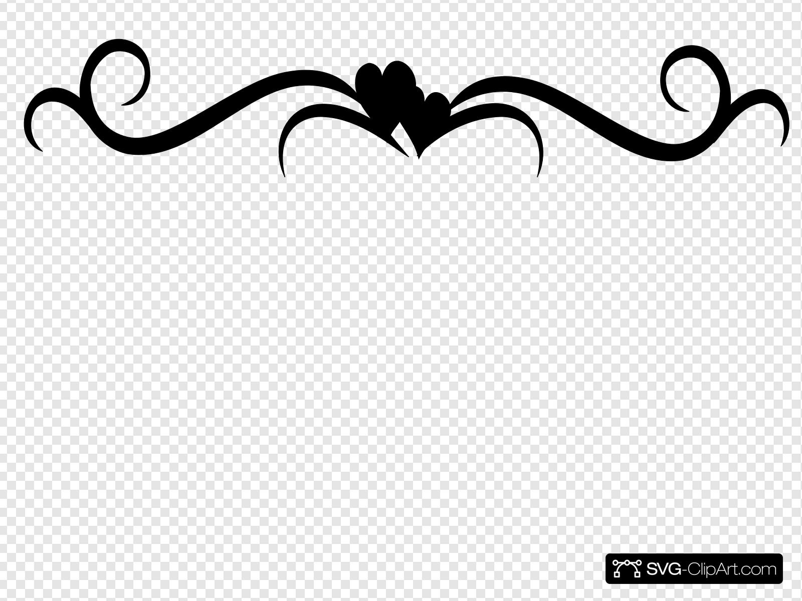 Swirl With Heart Clip art, Icon and SVG.