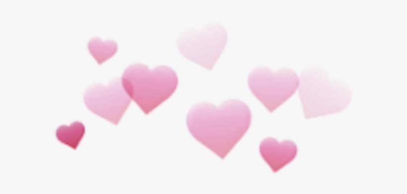 Cgnyb Snapchat Filter Heart Kalp Pink Pembe Rosa Edit.