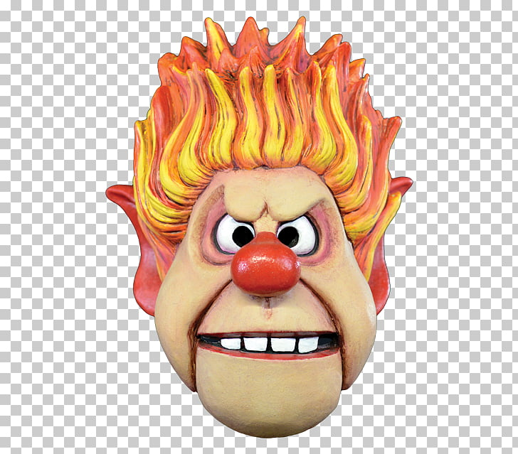 Heat Miser Snow Miser Costume Mask The Year Without a Santa.