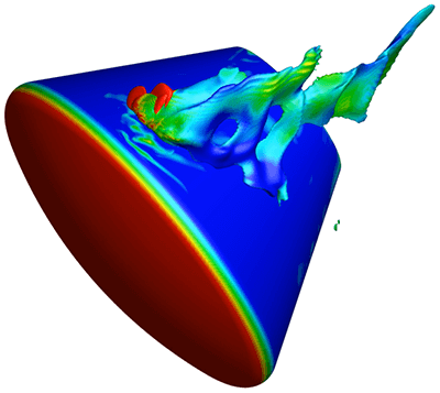 Tecplot Software Used by NASA in Design of Orion Heat Shield.