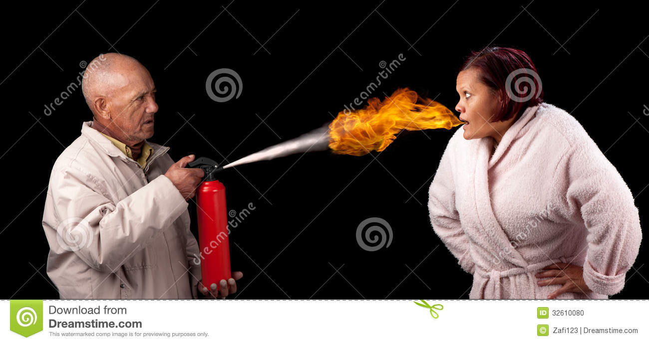 Heated Argument Clipart.