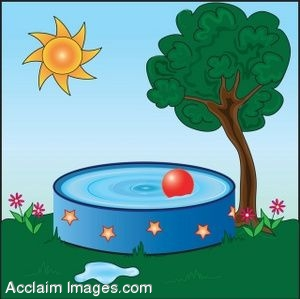 Summer Pool Clipart.