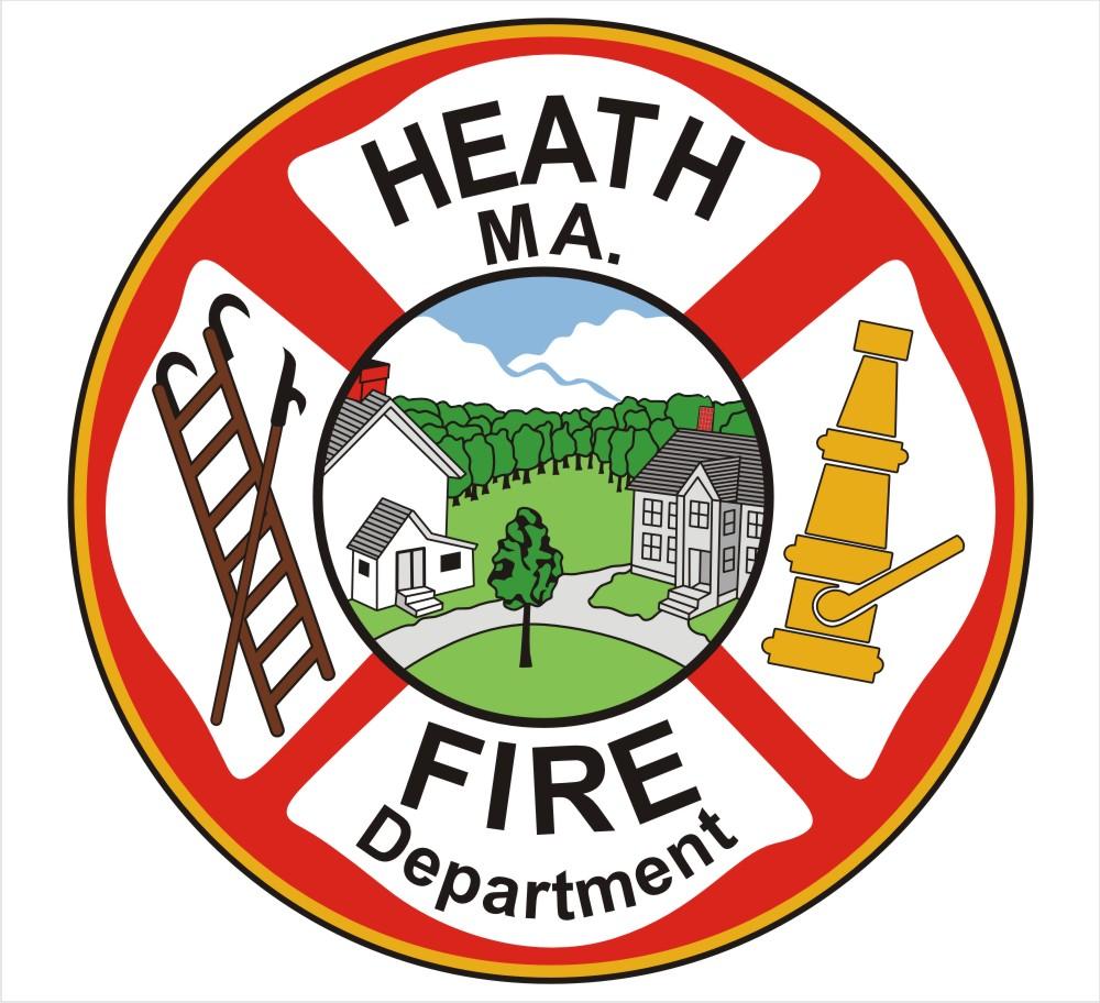 Heath Fire Department Customer Decal.