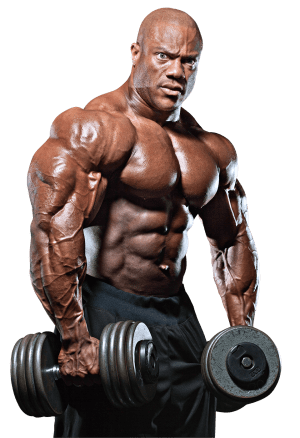 Phil Heath transparent PNG.