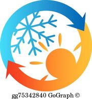 Heating And Air Conditioning Clip Art.