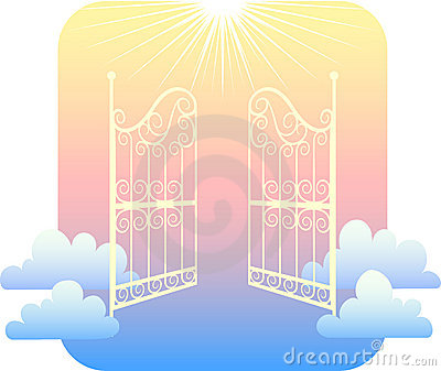 Heavens gate clipart.