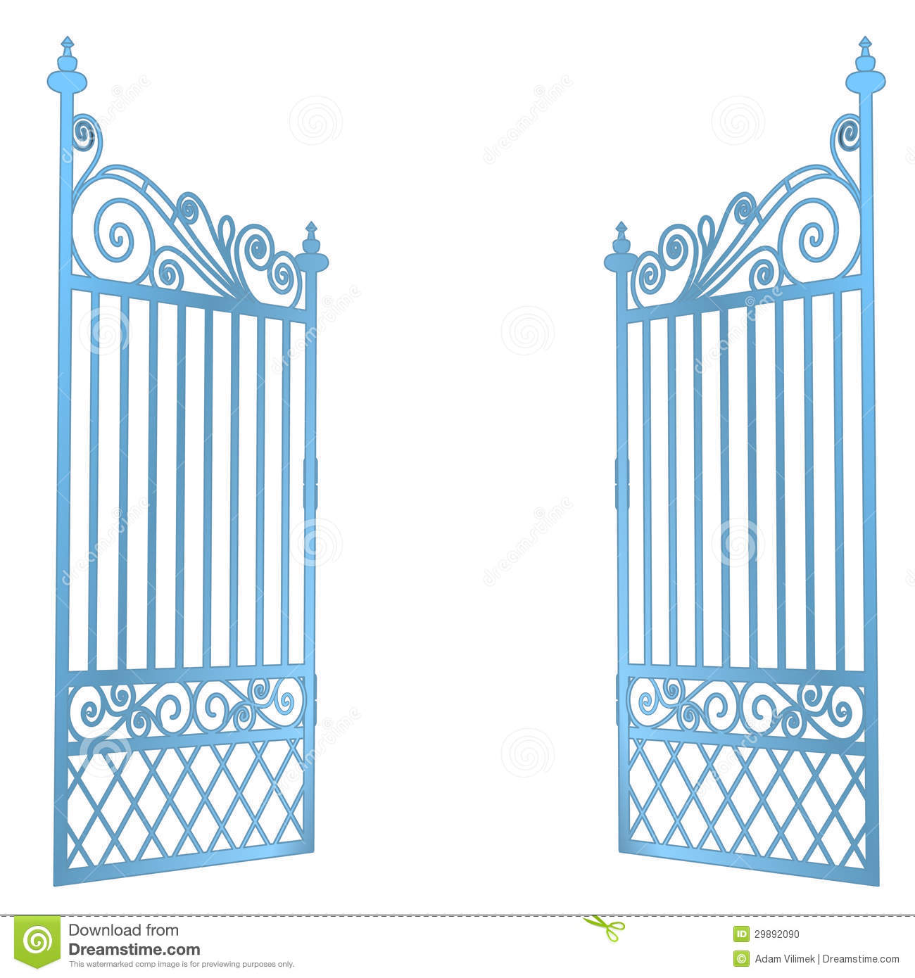 Heaven gate clipart.