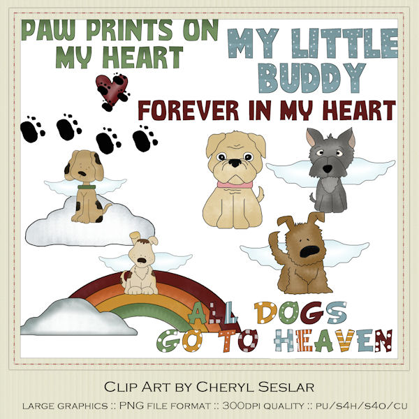 Dog Clip Art : Clip Art Designs, Commercial use products for.