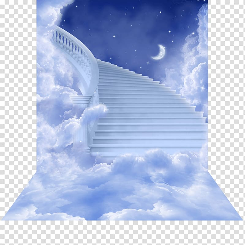 Crescent moon with stairs, Haiku Stairs Stairway to Heaven.