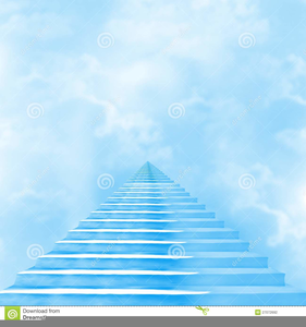Free Stairway To Heaven Clipart.
