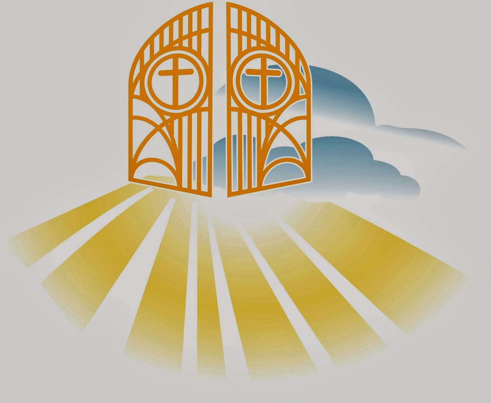 Heaven gates clipart.