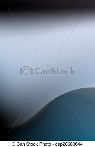 EPS Vector of heavenly blue azure background with soft folds.