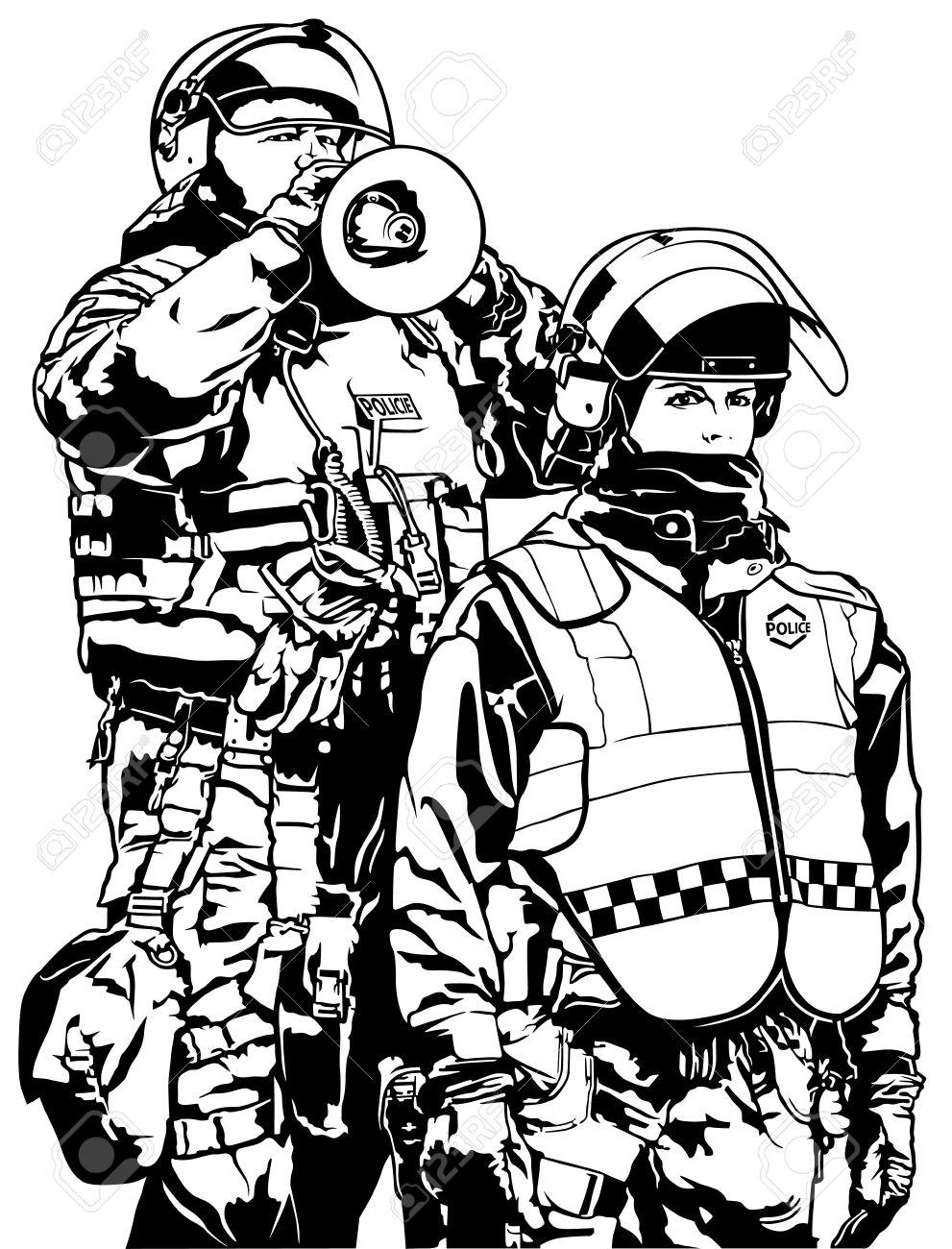 Police Heavy Armor.