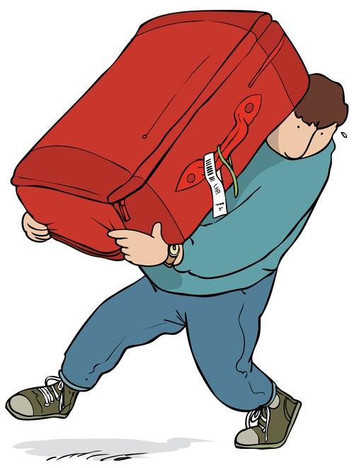 Heavy bag clipart 7 » Clipart Portal.