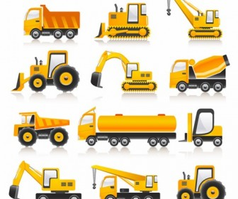 Construction equipment clip art.