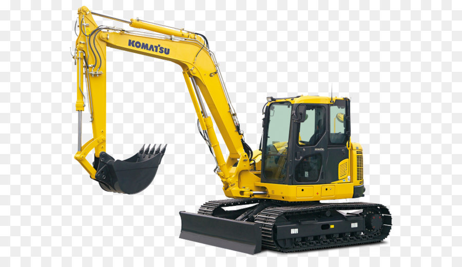 Komatsu Limited Construction Equipment png download.