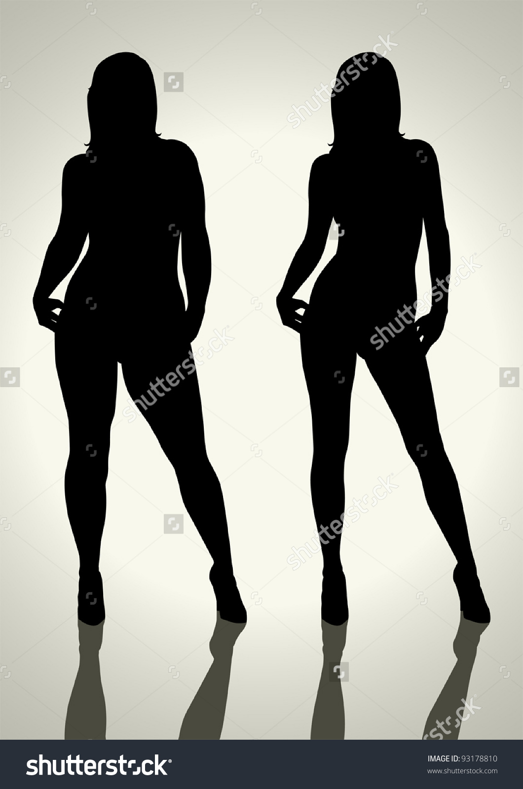 Heavy Female Silhouette Clipart 20 Free Cliparts