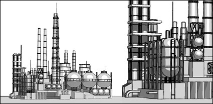 Vector Heavy Industries plant material, Cliparts.