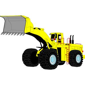 Heavy equipment clip art pictures.