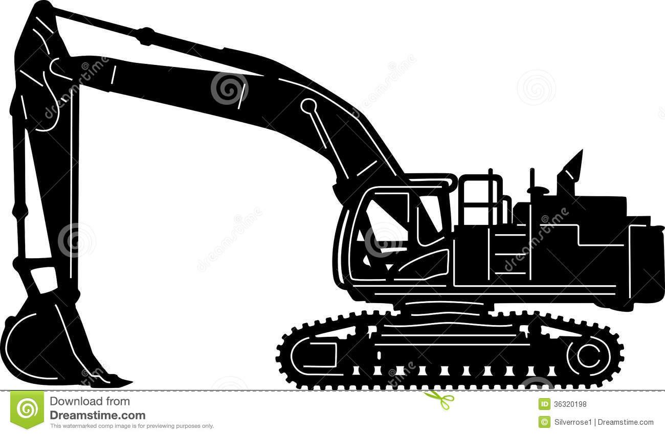 Heavy Equipment Clipart.