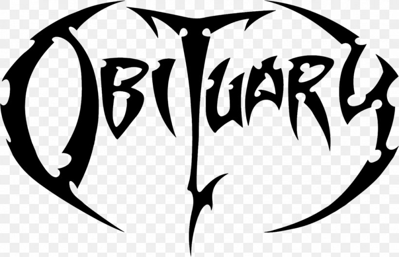 Obituary Death Metal Logo Cause Of Death Heavy Metal, PNG.