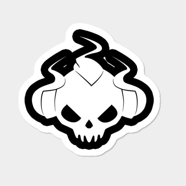 Sinvicta\'s Heavy Metal Logo Sticker Sticker By Sinvicta Design By Humans.