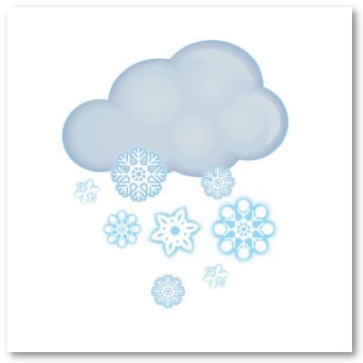 Snow Cloud Clipart.
