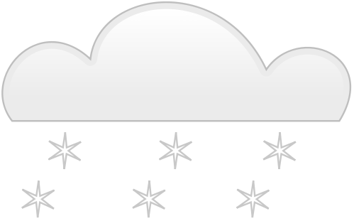 Free Clipart Of Snow Clipart Of A Cloud With Heavy, Snowing Free.