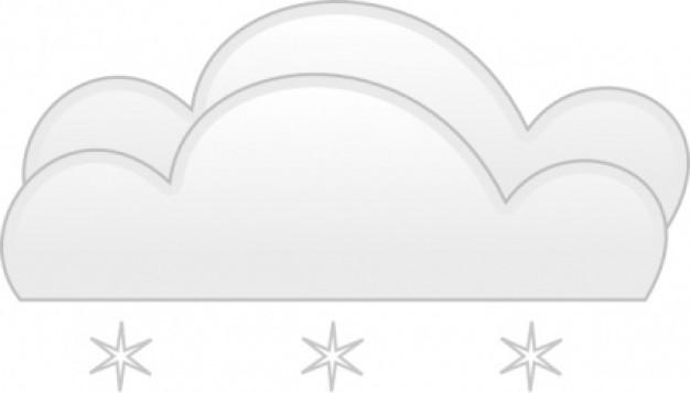 Wather heavy snow clip art.
