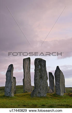Stock Photograph of Scotland, Isle of Lewis, Outer Hebrides.