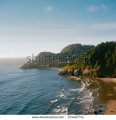 Head Heceta Lighthouse Oregon Stock Photos, Royalty.