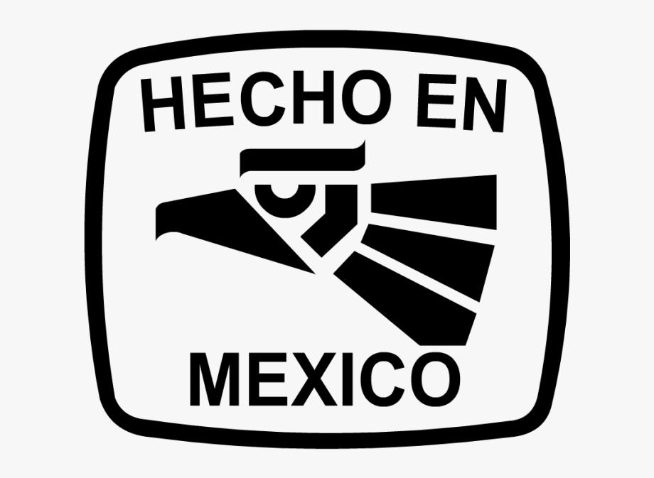 Hecho En Mexico Blanco Png.