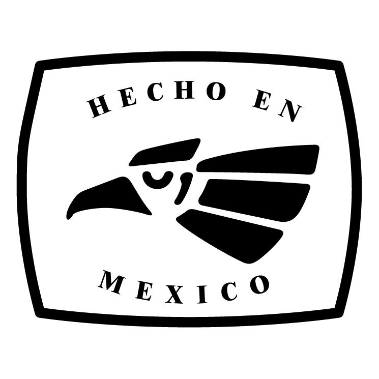 Hecho en mexico 1 Free Vector.