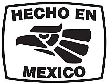Amazon.com: CRDesign Hecho En Mexico Made in Mexco Funny.