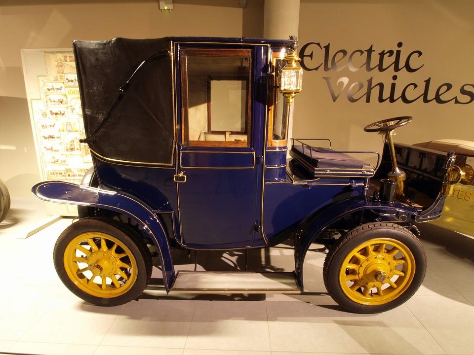 Free photo Car 1905 Vehicle Automobile Hedag Brougham Electric.