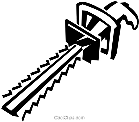 hedge trimmer Royalty Free Vector Clip Art illustration.