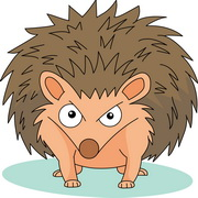 Free Hedgehog Clipart Pictures.