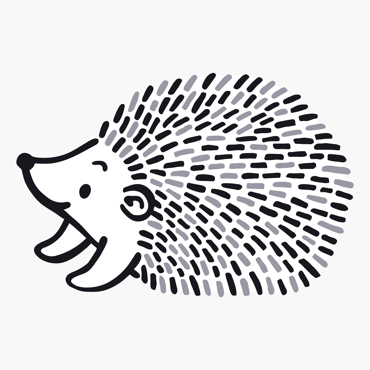 Hedgehog Clipart Black And White (93+ images in Collection) Page 2.