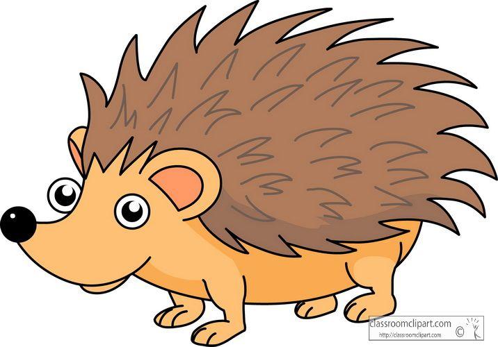 Cute Hedgehog Cartoon cartoon hedgehog clipart.
