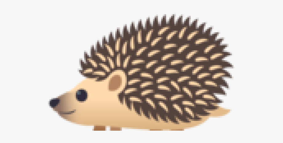 Hedgehog Clipart Face.