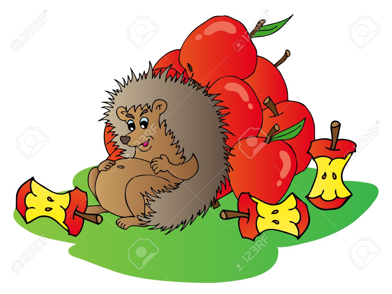 8,124 Hedgehog Stock Illustrations, Cliparts And Royalty Free.