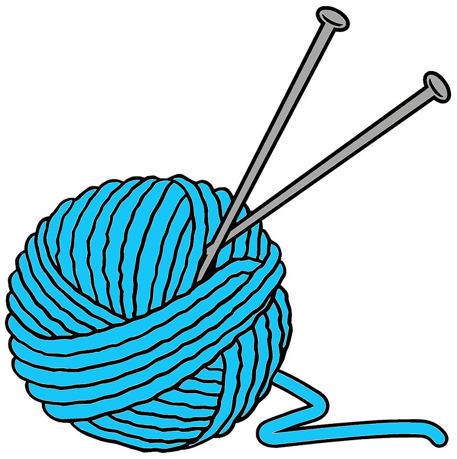 Knit And Crochet Clipart.