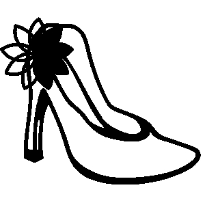 Free Heel Clipart Black And White, Download Free Clip Art.